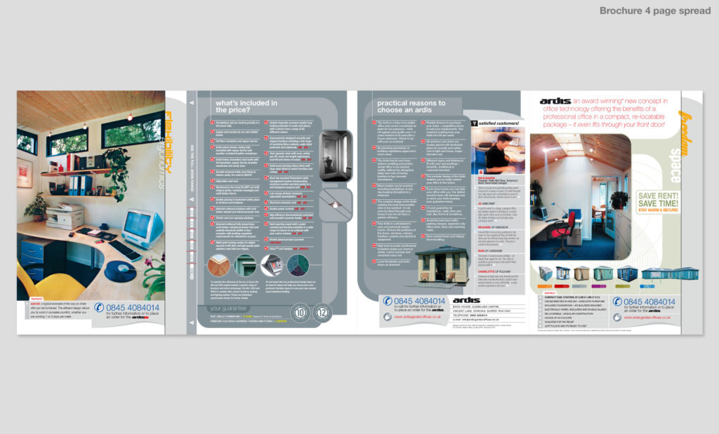 Graphic design in Devon by Rees Kenyon Design Consultant