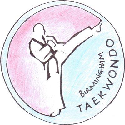 Birmingham Taekwondo Club Logo Sketch