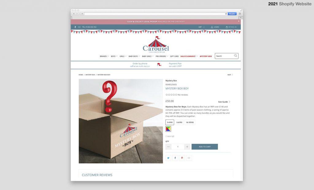 Shopify Website Design UK