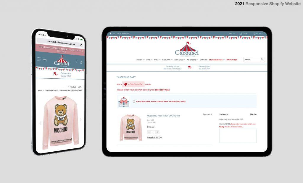 Shopify Shop Design UK
