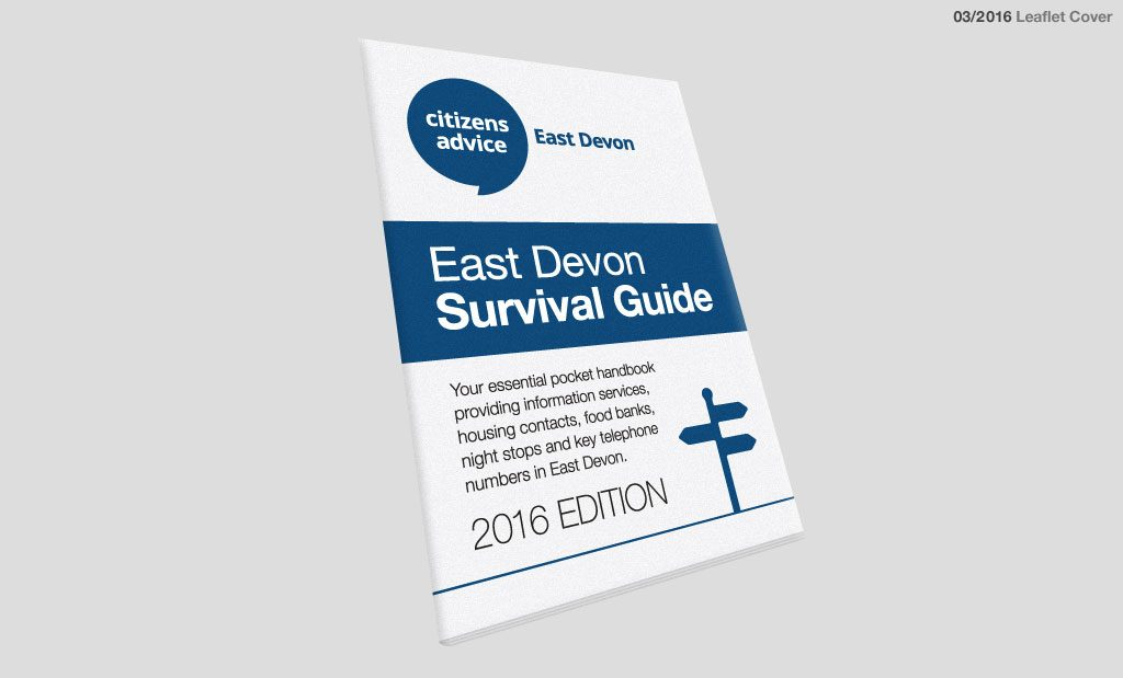 East Devon CAB Survival Guide Leaflet 5