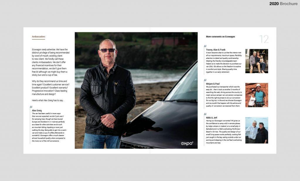 Ecowagon VW Conversion Brochure Spread