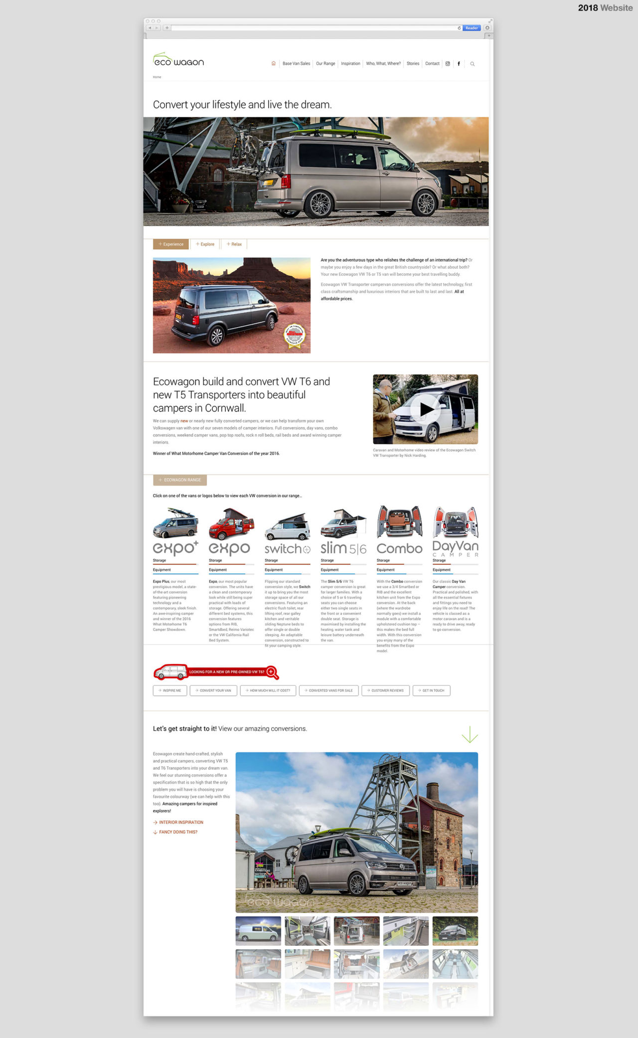 Ecowagon VW Conversions Website