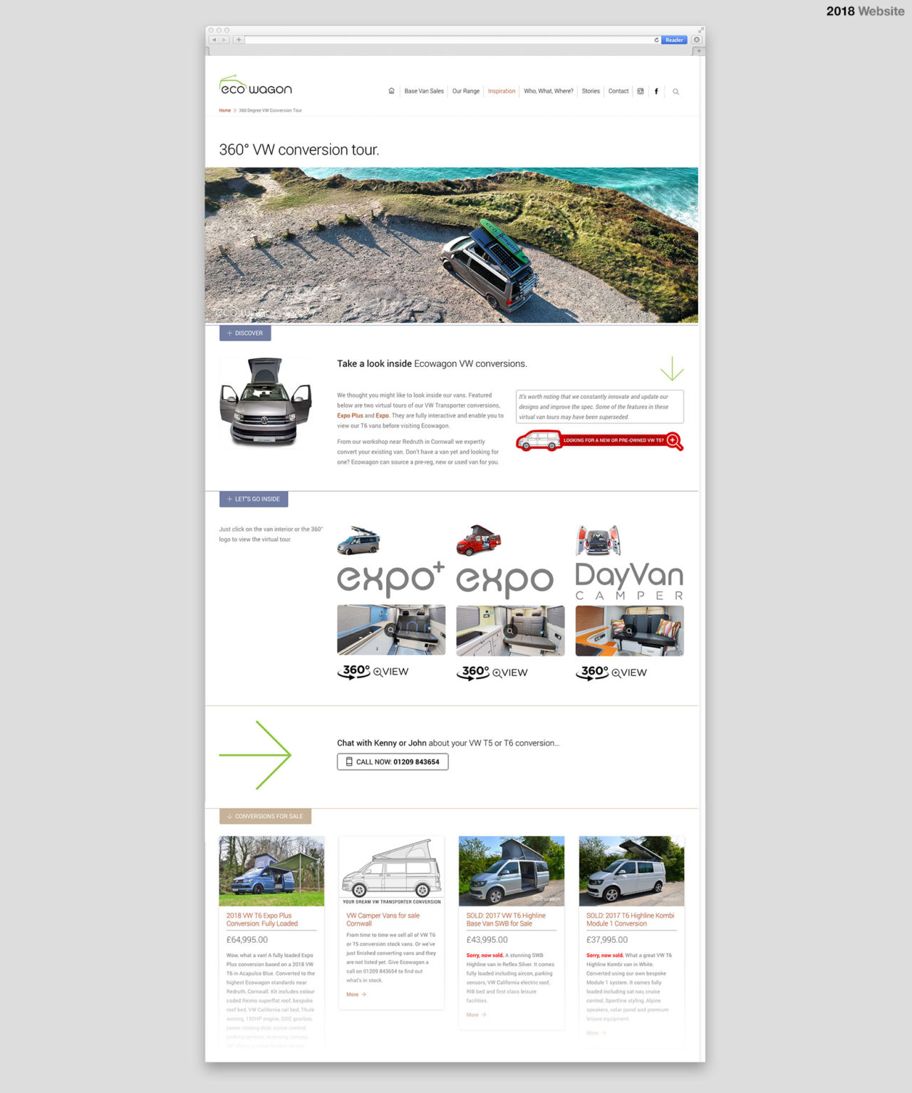 Swiss inspired web design
