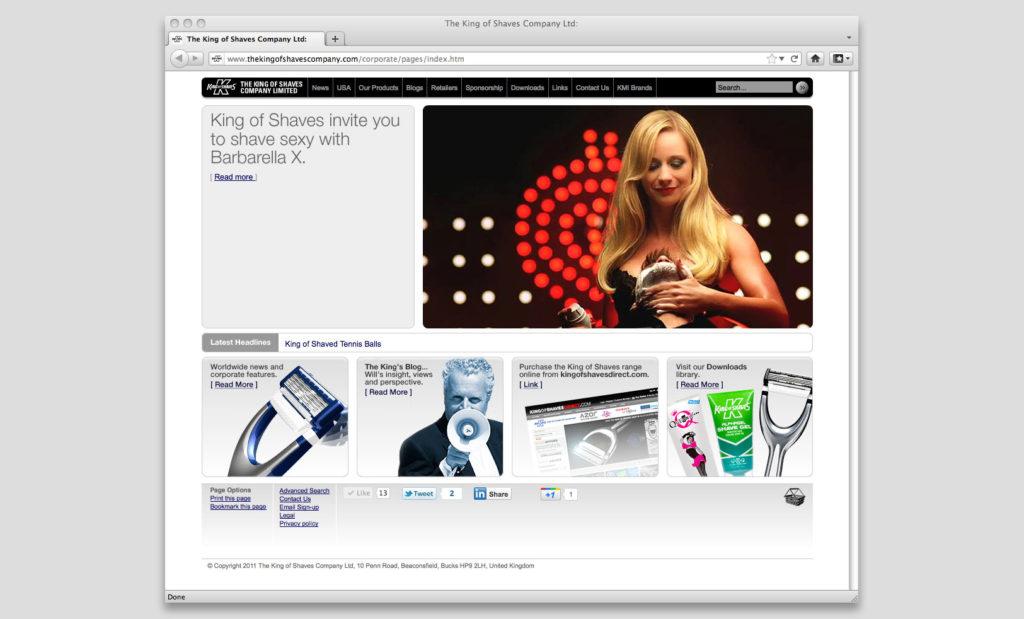 CMS website by Rees Kenyon Design Devon UK