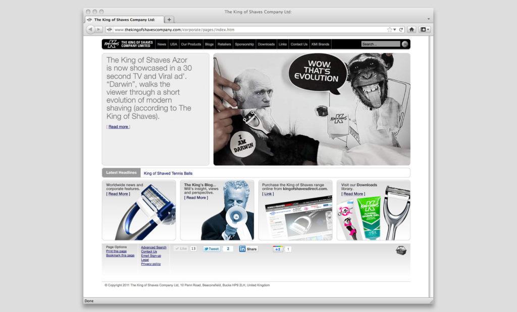 Corporate websites by Rees Kenyon Design Devon UK