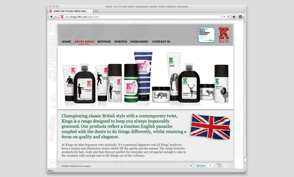 Websites by Rees Kenyon Design Devon UK