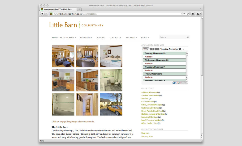 Website design Devon UK