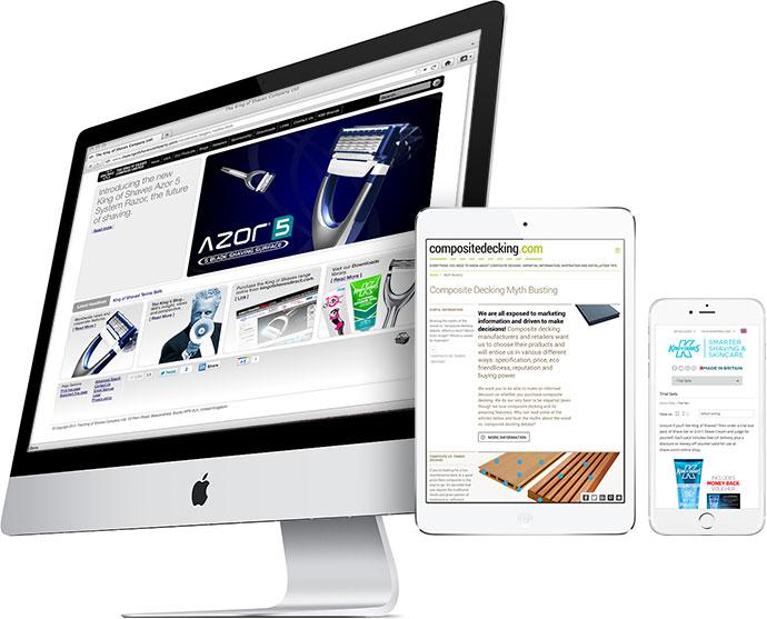 Websites and eCommerce Rees Kenyon Design Devon UK