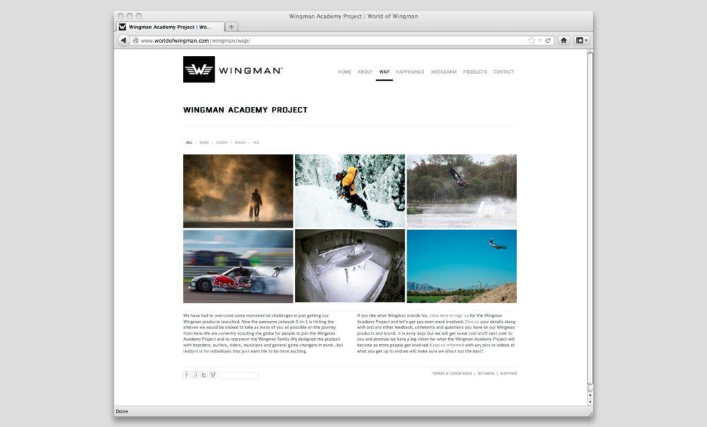 Trendy website by Rees Kenyon Design Devon UK