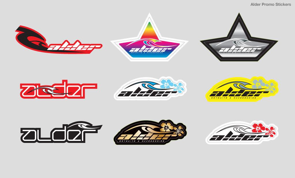 Promotional sticker design Devon UK
