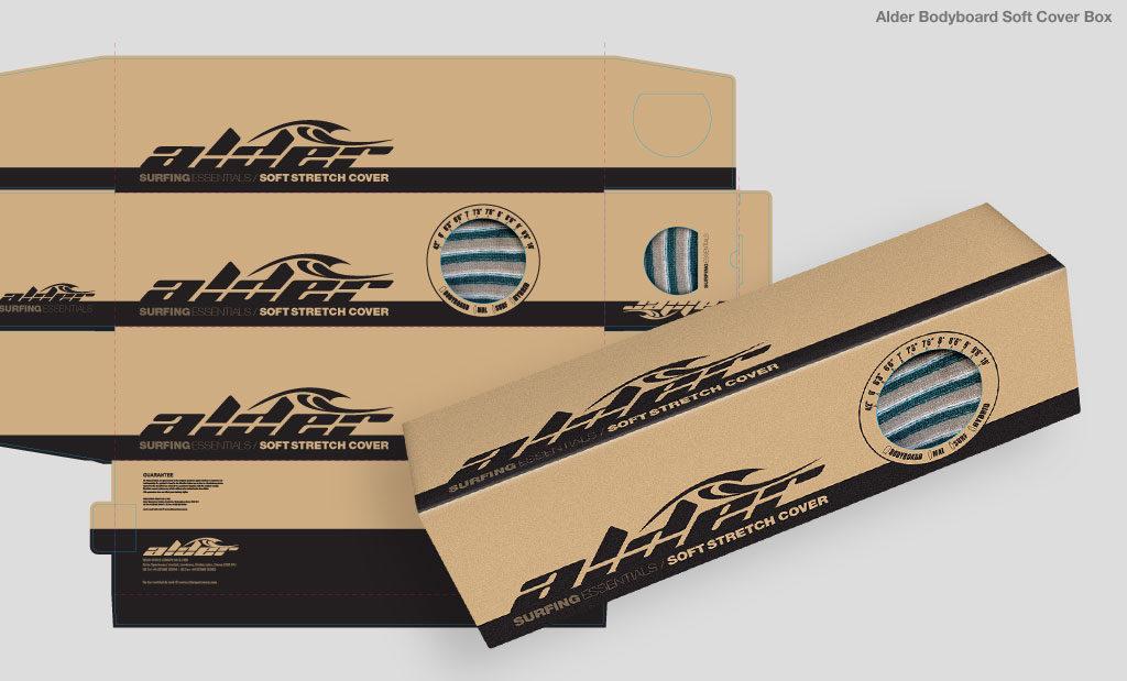 Bodyboard soft cover packaging UK