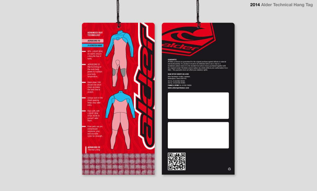 Garment tag design UK