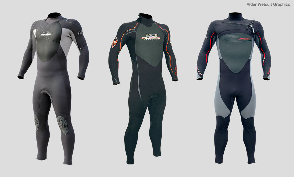 Wetsuit brand graphic design Devon UK