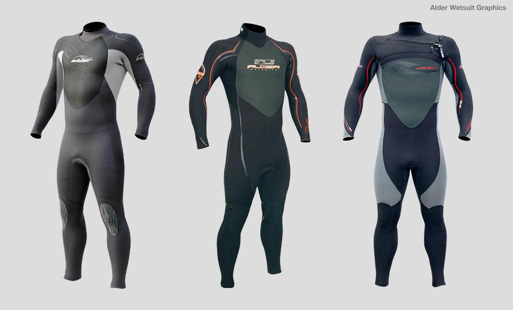 Wetsuit brand graphic design Devon UK