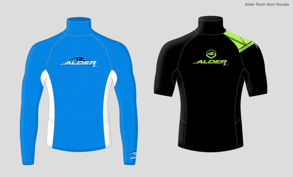 Rash vest graphic design
