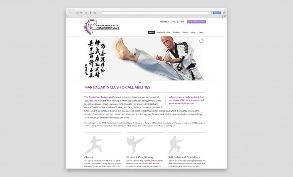 Birmingham Taekwondo Website