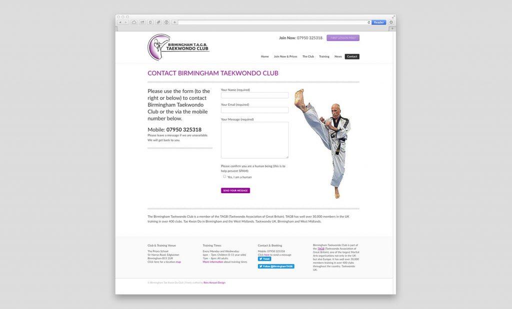 Fast loading promotional websites Birmingham