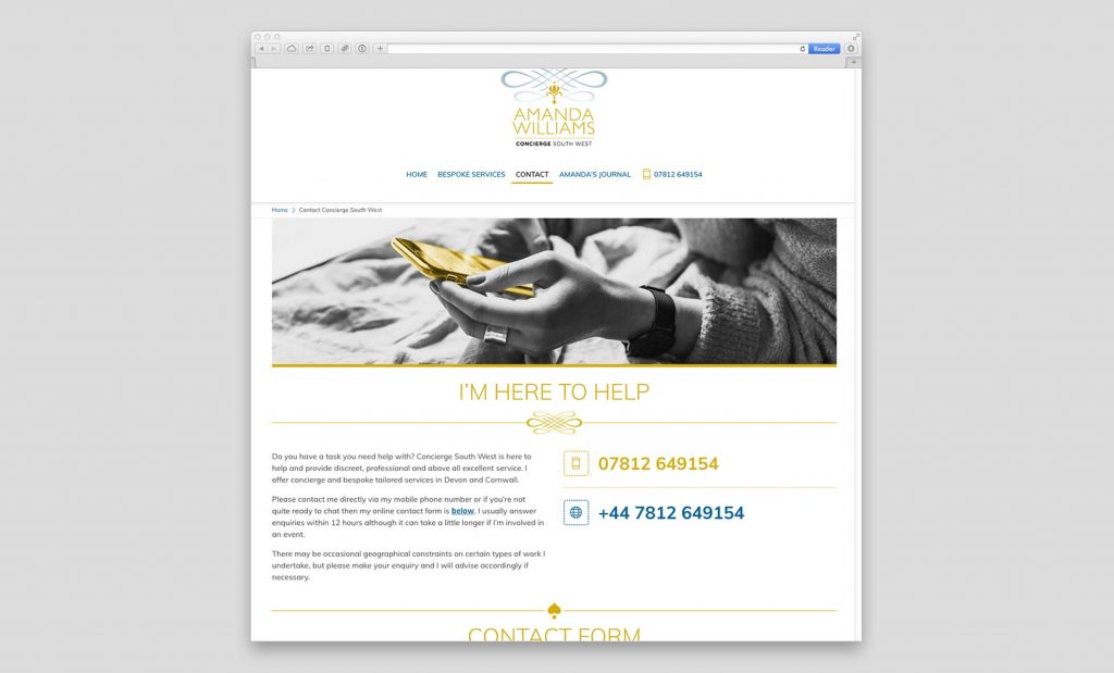 Beautiful Websites Devon UK