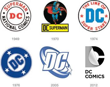Dc Comics Logos Mobile