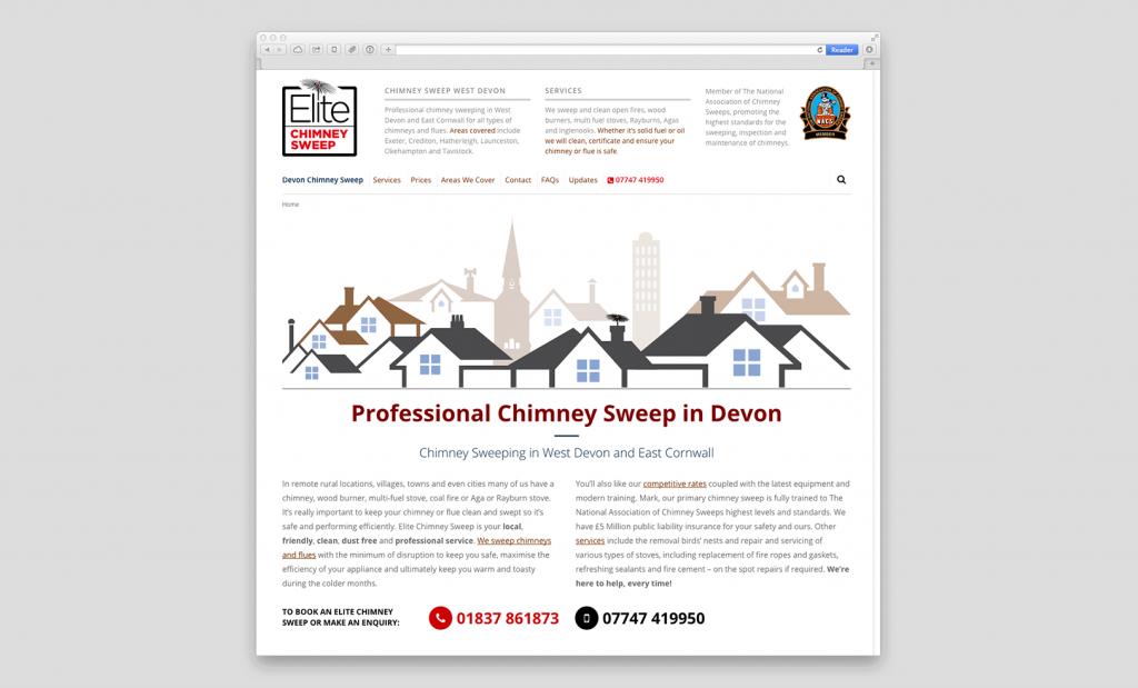 Website Design near Exeter