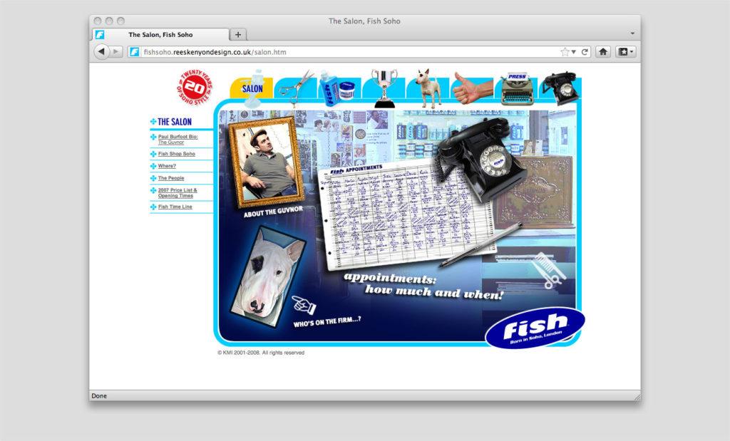 Paul Burfoot website by Rees Kenyon Design, Devon, UK