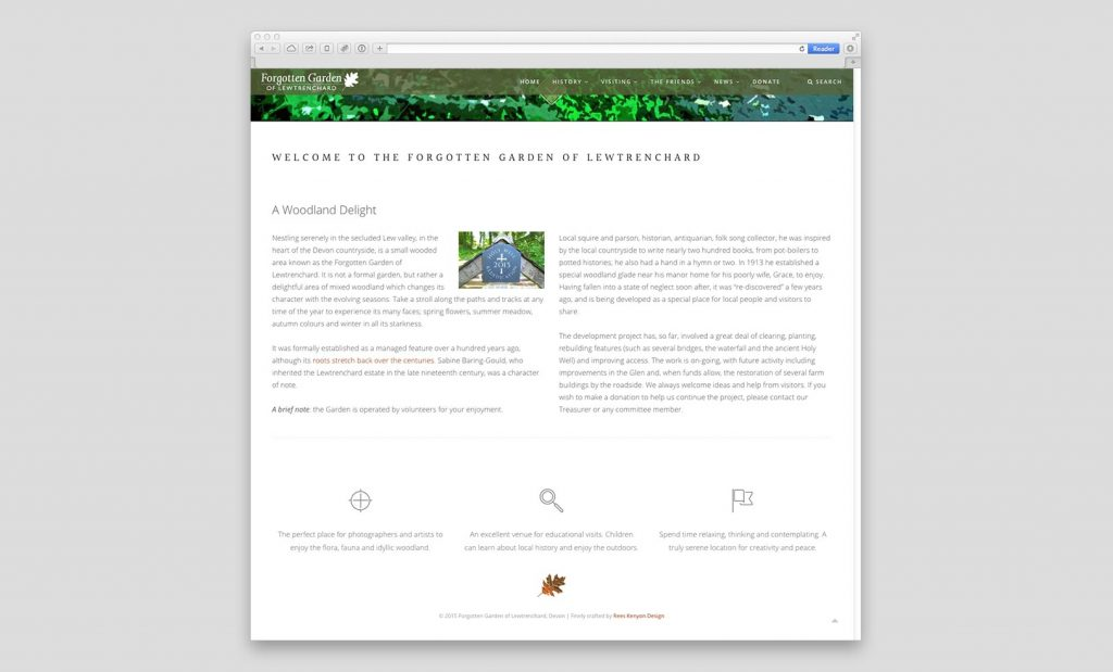Forgotten Garden Website 3