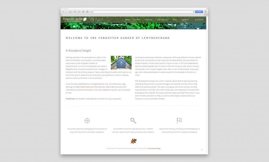 Forgotten Garden Website 3