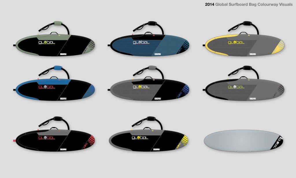 Surfboard bag designer UK