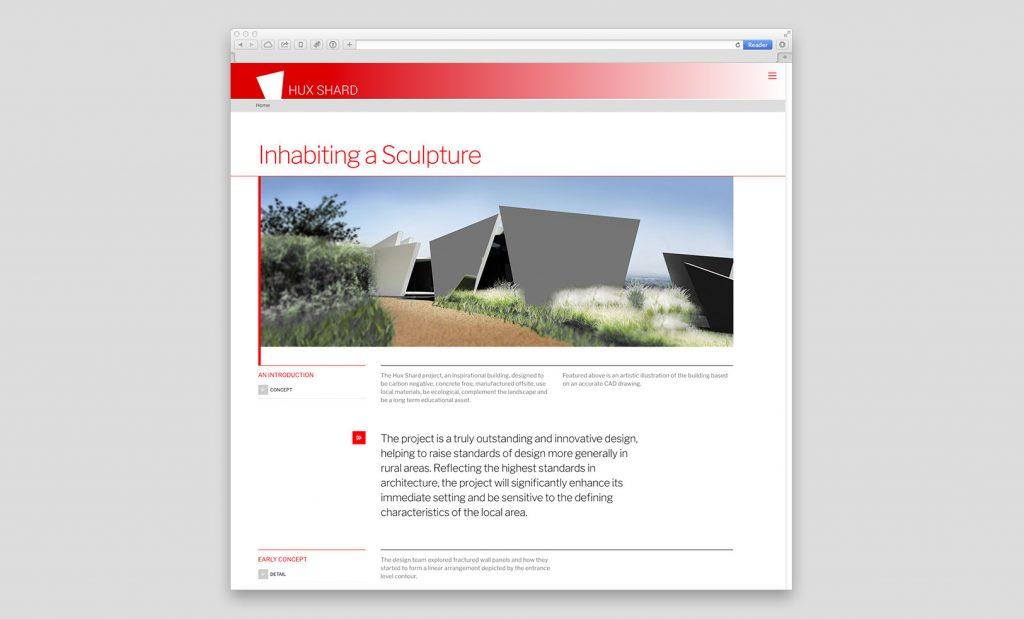 Architectural Website Design