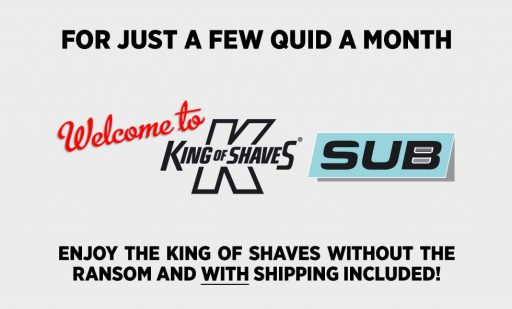 King Of Shaves Subscription Website