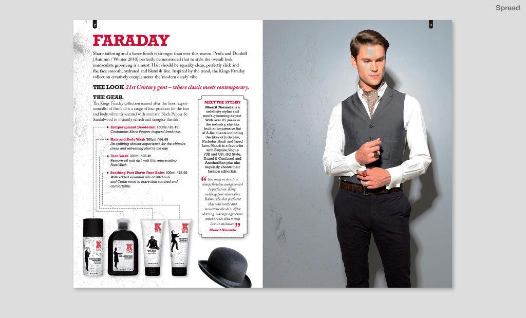 Promotional literature by Rees Kenyon Design Devon UK