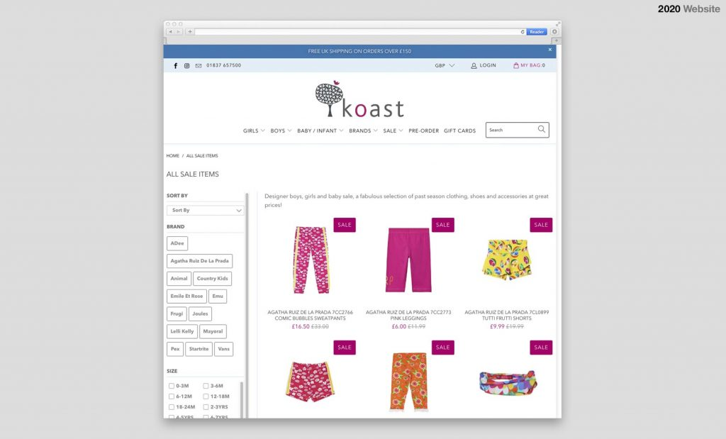 Koast Website 3