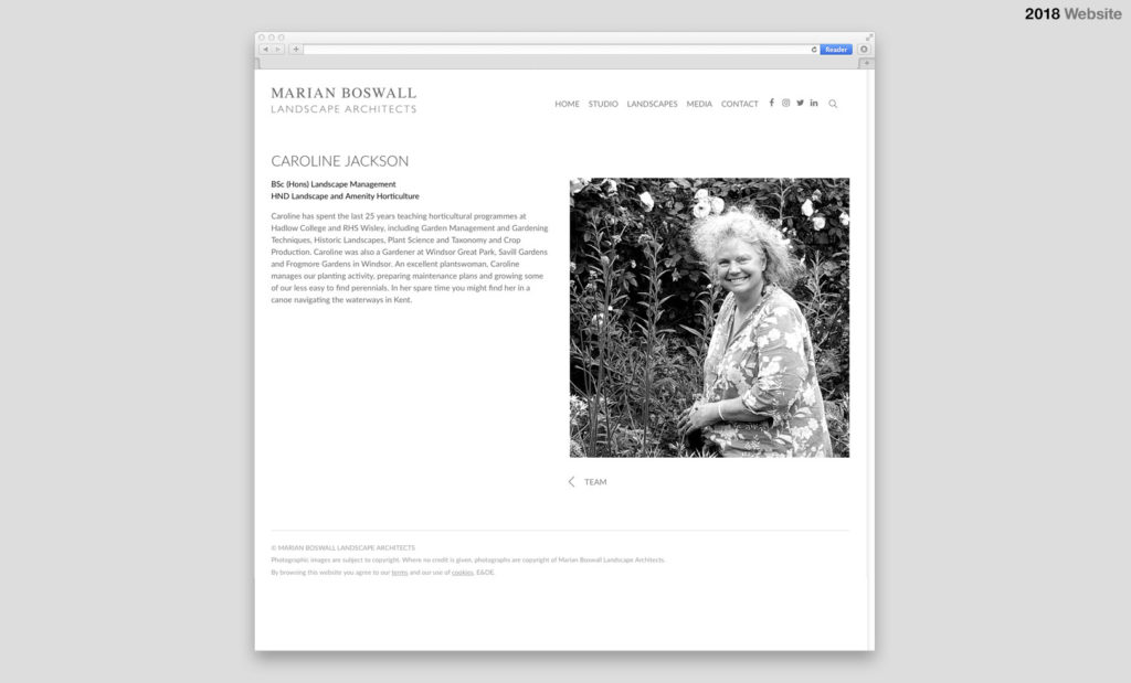 Marian Boswall Website 2