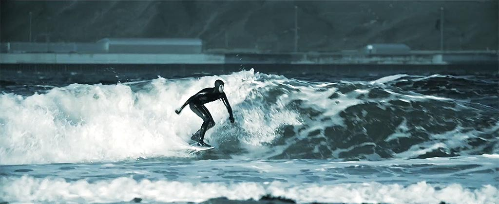Mark Boyd Surfer Scotland