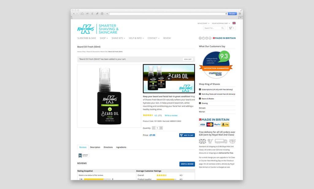 Easy to use eCommerce platform