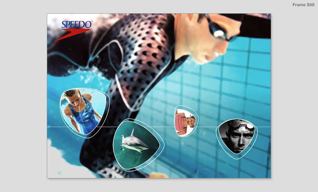 Speedo UK Products showreel by Rees Kenyon Design Devon UK