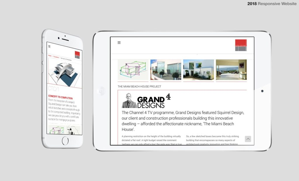 Mobile Responsive Websites Devon