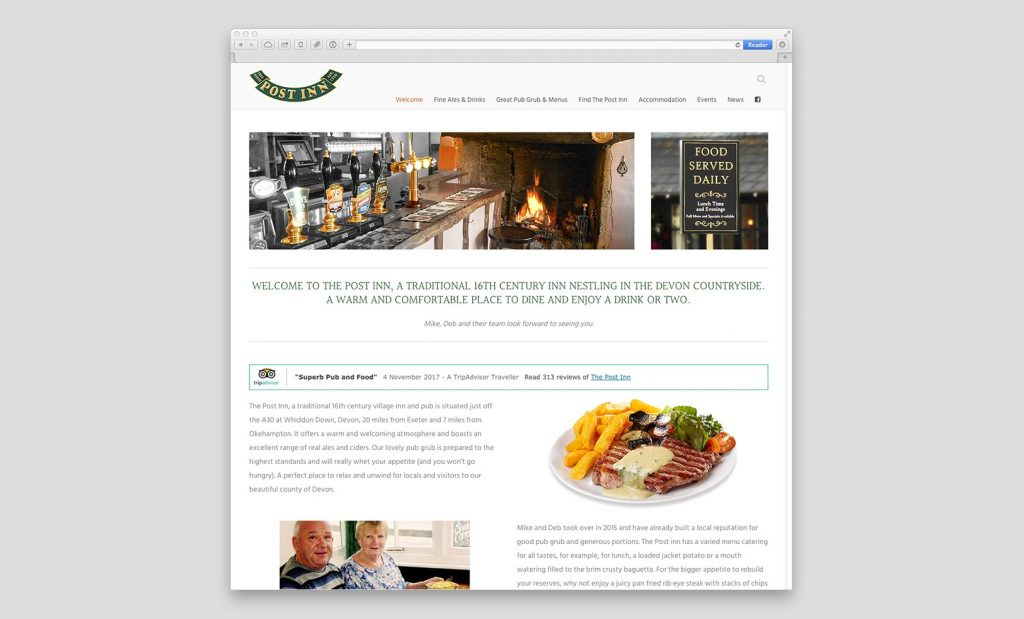 The Post Inn Website