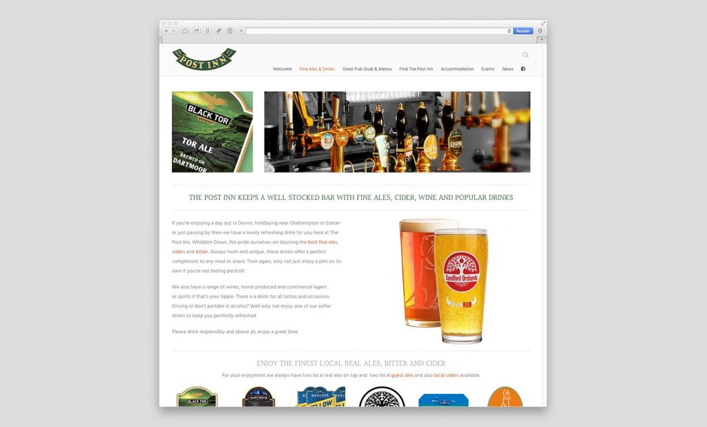 Promotional Website Devon