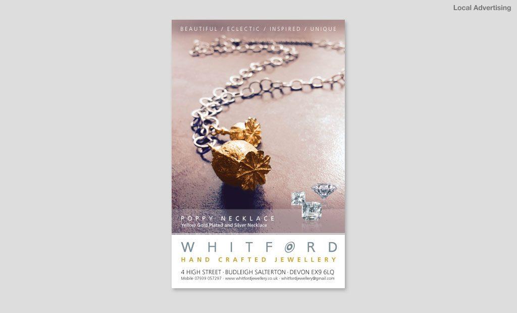Jewellery Advert Design Devon