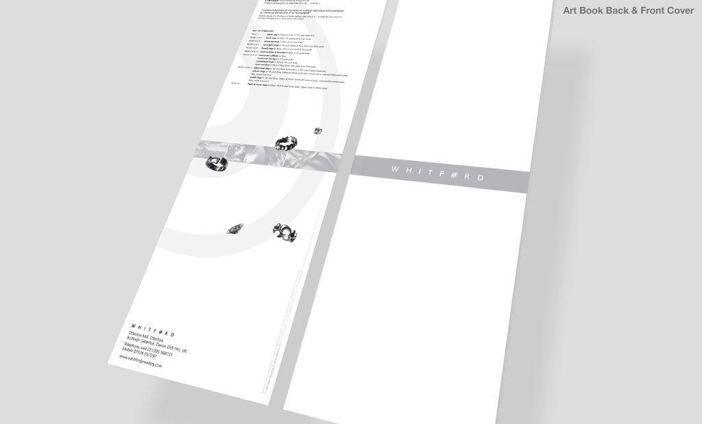 Art book design by Rees Kenyon Design Devon UK