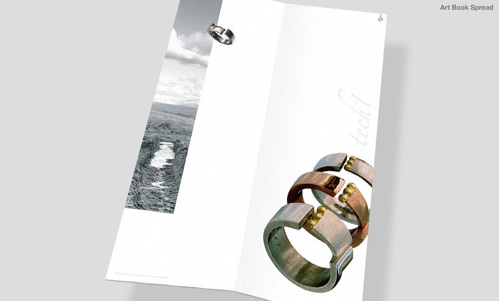 Jewellery book by Rees Kenyon Design Devon UK
