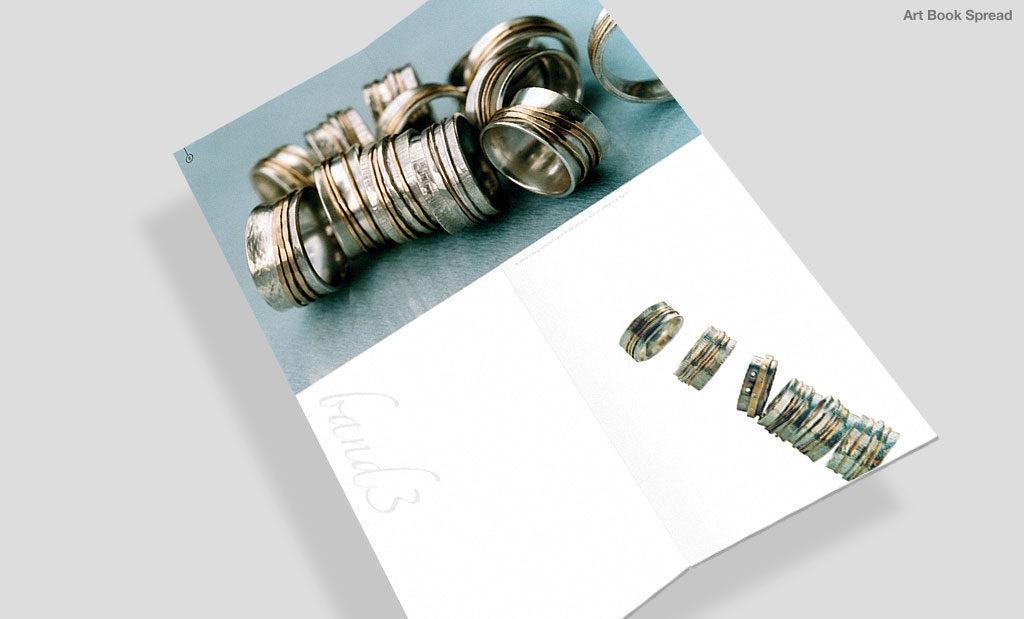 Art brochure by Rees Kenyon Design Devon UK