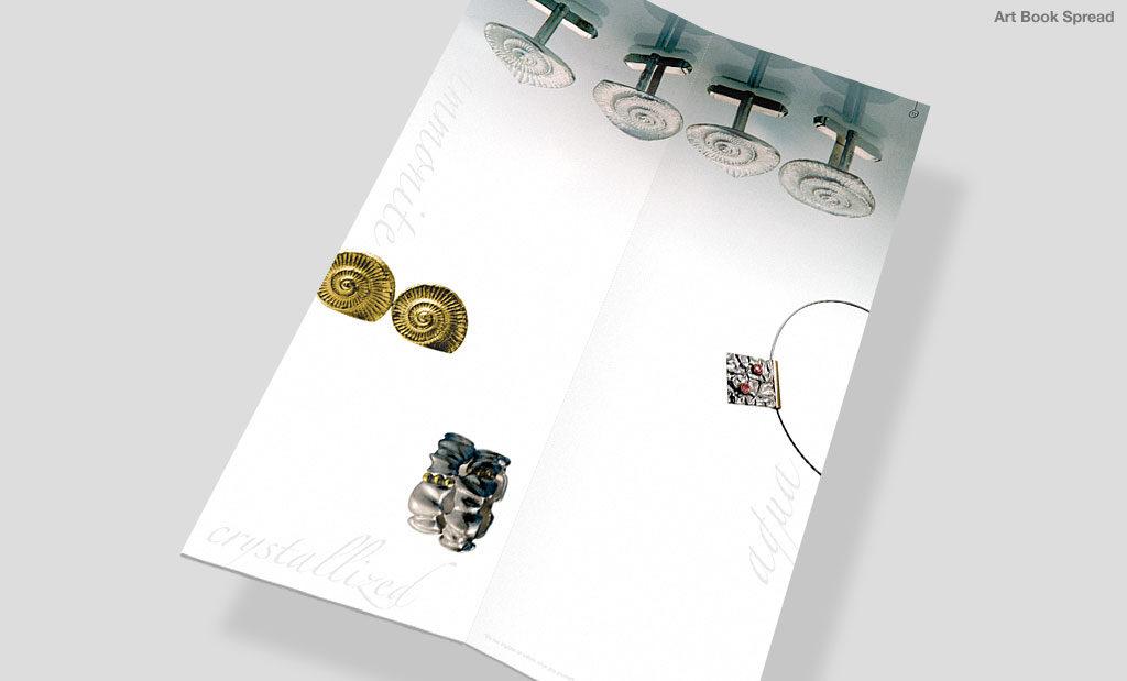Minimal art book by Rees Kenyon Design Devon UK